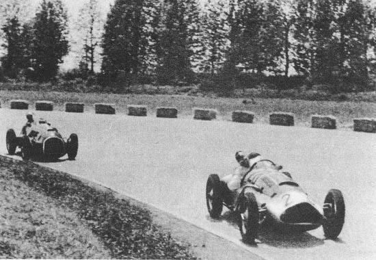 GP da Itália de Formula 1, Monza, em 1950 - ultrapassagem.org